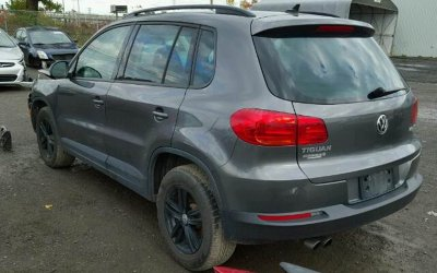VW Tiguan 2.0 TSI 2015