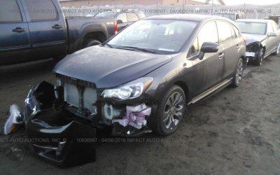 Subaru Impreza 2016 2.0 premium 4x4    ( Maciek )