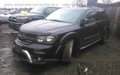 Dodge Journey 2015 3.6 4x4 7os Crossroad