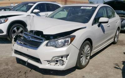 Subaru Impreza 2015 2.0 premium 4x4   EyeSight Kamery